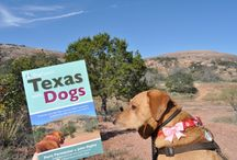 "Texas with Dogs / Dog-friendly destinations from the new ""Texas with Dogs"" guidebook by Paris Permenter and John Bigley / by DogTipper.com"