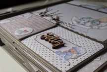Ideas decoración album Scrap