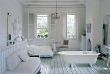 Dream Home Inspiration  / My style is industrial chic meets cottage elegance.