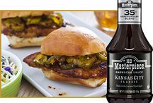 KC Masterpiece Sauces and Marinades / KC Masterpiece® Barbecue Sauces are rich and thick, adding smoky and sweet flavor to every bite. They're great for broiling, baking and grilling, and as an ingredient in recipes.