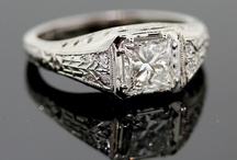 || princess cut engagement rings || / Curated by, www.littlebirdtoldyou.com - Like princesses, Princess Cuts can be difficult. They are new to the scene compared to the stately Radiant or Emerald Cuts. They can appear to be all elbows compared to the accommodating  Cushion. But if you give them a setting that plays to their unique strengths they will shine for you. Here are some examples of unique princesses. - www.littlebirdtoldyou.com