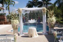 Altar & Arches / #altar&arches #triasflowers #weddings #events #flowers #elegant #miami www.triasevents.com