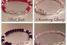 jewelry with semiprecious stones