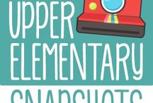 Upper Elementary Snapshots / Find fun, creative ideas, and quality resources pinned by the teachers from the Upper Elementary Snapshot's blog. / by The Teacher Next Door