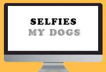 Selfies - My Dogs / Selfies of my dogs.
