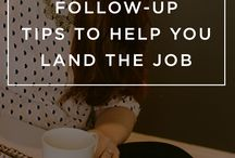 Career Tips / Getting you started, from resume building to networking, we've got your back.