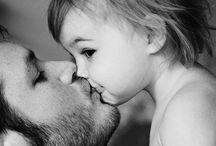 Dochter-vader foto's