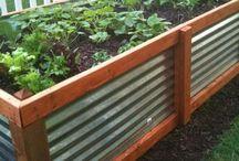 Jardin - Ideas con Chapa / Decoración para Jardín con combinaciones de Metal-Chapa y Madera-Chapa