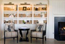 Creative bookcases.