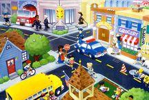 Ciudad y Servicios Láminas