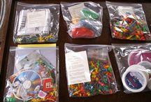 Busy bags en sensory play / Al die dingen waar Amerikaanse homescooling moms zo goed in zijn