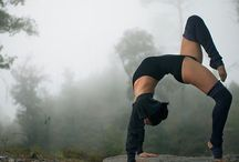 Yoga / To reduce my stress and create beauty. My goal is to be stronger