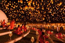 Most Amazing World Festivals / A brief collection of some of the most amazing festivals around the world - the collection highlights our personal favorites that are both picturesque as well as attractive due to its adventurous nature.