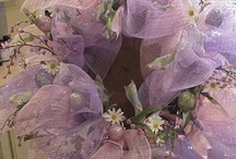 lavender, lilac and purple