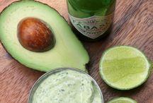 comidas verdes