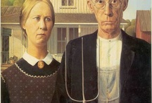 Faces : American Gothic