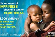 #SavingLives of Mothers and Children / Amazing news: Canada has just committed $3.5 billion to save the lives of women and children around the world.  Where you live shouldn't determine whether you live. Re-pin our posts if you stand for every child!  #Canadacares about #savinglives. Read more here: http://www.unicef.ca/savinglives