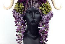 flower wigs