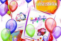 Fødselsdag/ højtider/ mærkedage .. / Inspiration..