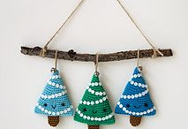 Christmas DIY, crochet, decoration