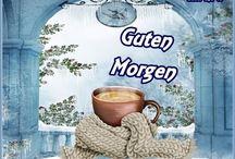Winter-Guten Morgen