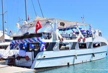 Beautiful Yacht Events Antalya