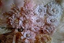 Fabric Flowers / by Momotova Lina