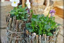 jarní dekorace - venkovní