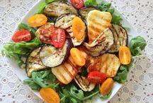 Zeleninové saláty,....