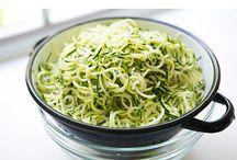 Noodles courgette