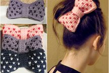 crochet hair accessiories