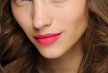 Lipstick - Pink / fuschia lips / From baby pink to hot pink.