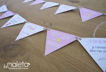 WORK / La Box EVJF by La Maleta / Offrez à la future mariée un moment unique en commandant votre box personnalisée aux couleurs et au thème de l'évènement ! Pour la commander direction la boutique http://www.psbylamaleta.fr/boutique