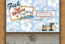 fish your weekend / http://fishyourweekend.com.mx/ Armado en HTML de una promoción de Fisher´s, basados en visuales de Devórame Otra Vez Desarrollado para: Devórame Otra Vez
