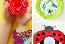 Papír tányér ötletek