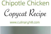 Chicken Recipes / by V Bushell
