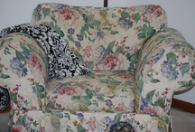 i❤Slipcover - Slipcovers / It all started with my ugly floral couches and chair from my mom.  I decided to slipcover them myself.  I fell in love with it and would do it again. / by Robin Rix