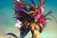 Burning man / carnaval