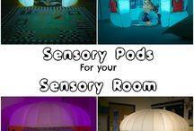 Sensory room / Ideas for a sensory room