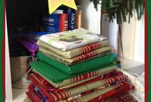 2014 Advent Book Library / Advent Book Tree / Our photos from our Advent Book Tree - and some of our friends' , too. :0)