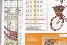 Crossstitch Bikes