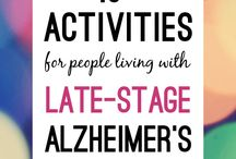 Memory Care activity