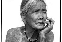 Aging in Beauty / These women's beautiful faces show wisdom, humor and lives lived fully.  Why are we so afraid to be like them?   / by Pat G-R