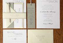 Grey Wedding Invitations & Stationery
