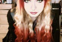 peek a boo hair colour