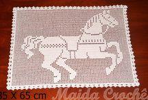 Ateliê da Maida / Meus trabalho de crochê
