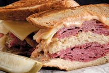 Super 46 Sandwiches / Everyone loves a good sandwich. Here are 46 – to commemorate the 46th Super Bowl coming to Indianapolis – that we know you will enjoy. And we're not the only ones: many of these have been featured in Gourmet magazine or on the Food Network's Diners, Drive-ins and Dives not to mention favorites of locals and visitors alike, such as the iconic Ruben at Shapiros in Indianapolis and Carmel, tenderloins, burgers and a few surprises around the state.