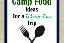 Camping Yum-Yums / Dishes wanting to try for camping.   / by Amy Player