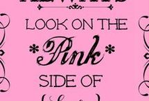 Pink love / by Kristin Crall 🎀💄