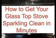 clean stove top